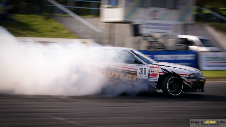 Nissan Skyline r33 drift